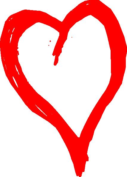 red heart clip art at clker com vector clip art online royalty rh clker com red heart shapes clip-art red heart clipart images