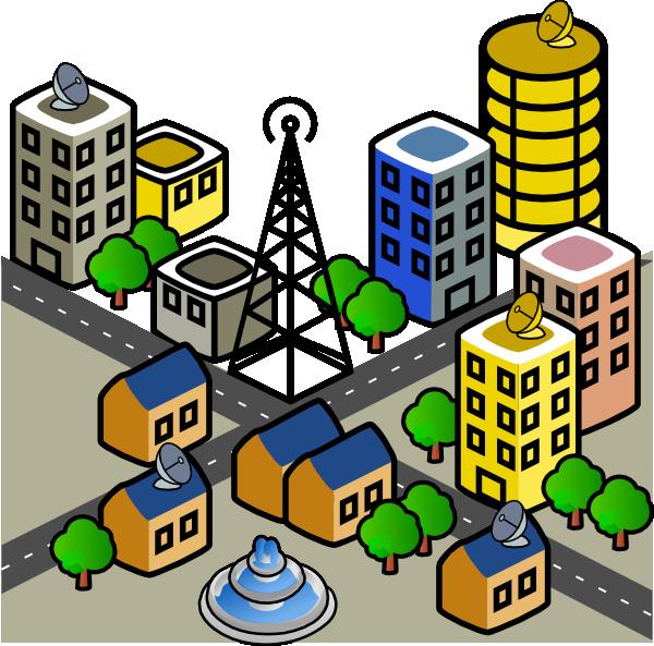 City Clip Art at Clker.com - vector clip art online, royalty free ...