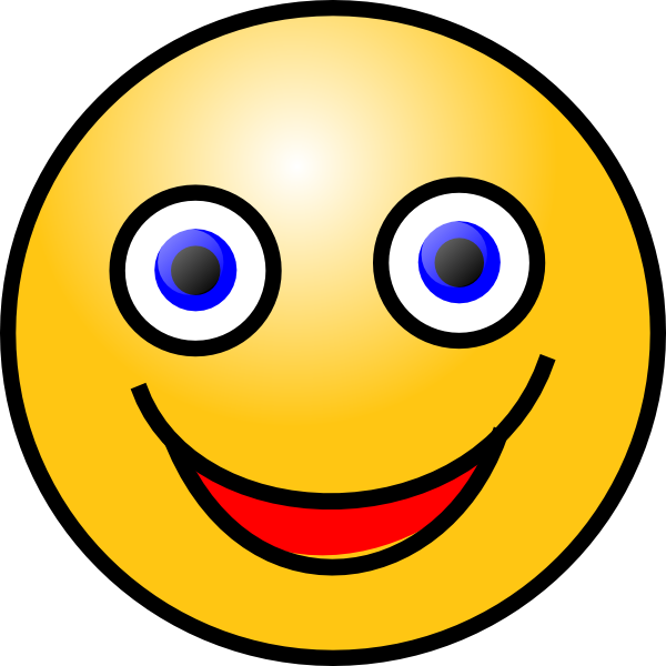 smiley face clip art at clker com vector clip art online royalty