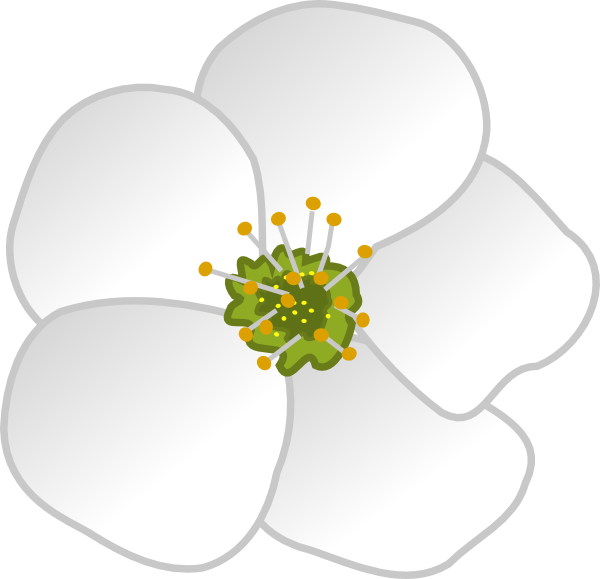 Flower Clip Art At Clker Com Vector Clip Art Online