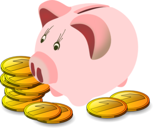 piggy bank with coins clip art at clker com vector clip art online rh clker com piggy bank clipart images piggy bank clipart free