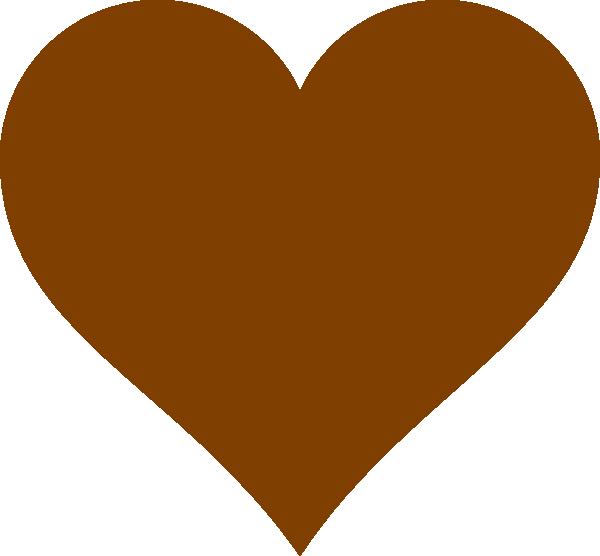 chocolate heart clip art at clker com vector clip art online rh clker com Candy Hearts Clip Art Heart Balloons