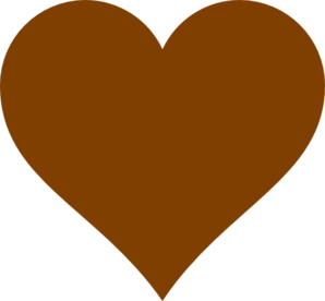 Chocolate Heart Clip Art