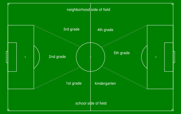 Soccer Field With Classroom Layout Clip Art At Clker Com