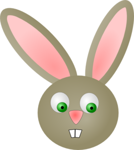 Cute bunny rabbit clip art at clker vector clip art online cute bunny rabbit clip art voltagebd