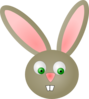 Cute Bunny Rabbit Clip Art