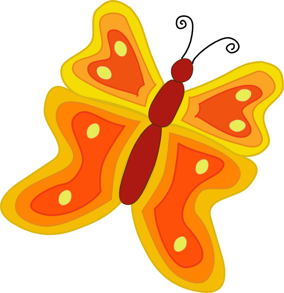 animated butterfly clipart free - photo #40