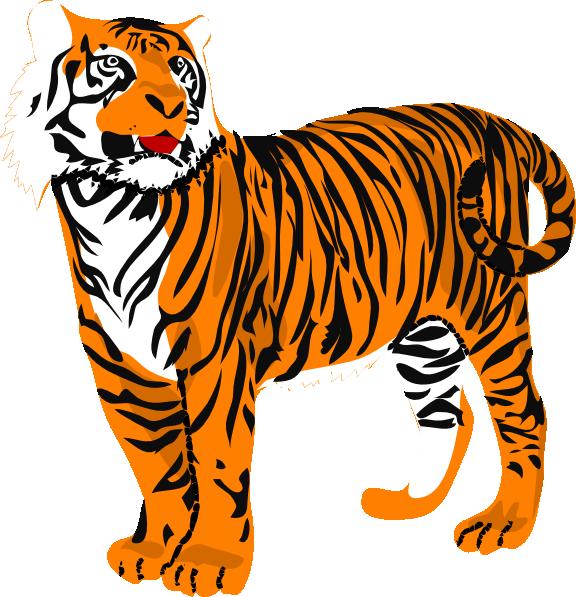 Tiger Clip Art at Clker.com - vector clip art online, royalty free ...: www.clker.com/clipart-tiger-10.html