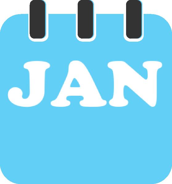 January Teal Clip Art at Clker.com - vector clip art ...