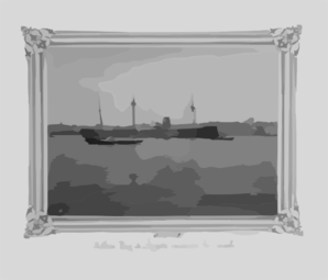 [the Imperial Ironclad Frigate Asar-i Sevket]  / Constantinople, Abdullah Frères. Clip Art