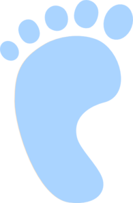Newborn Screening Foot Clip Art