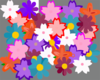 Flower Collage Clip Art