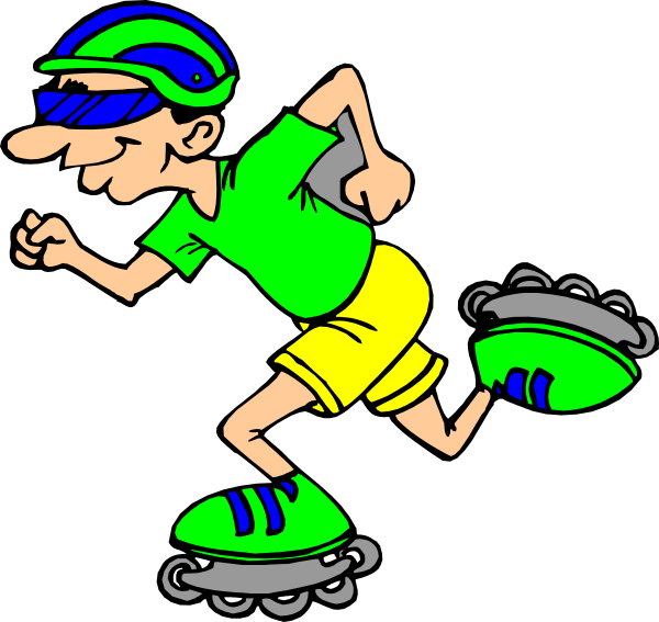 roller blading clip art at clker com vector clip art skating clipart black and white skating clipart free