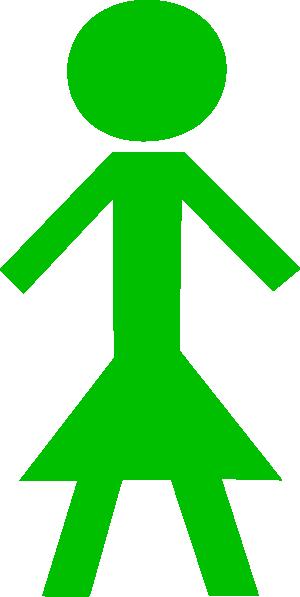 green stick figure girl clip art at clker com vector person running away clipart person running late clipart