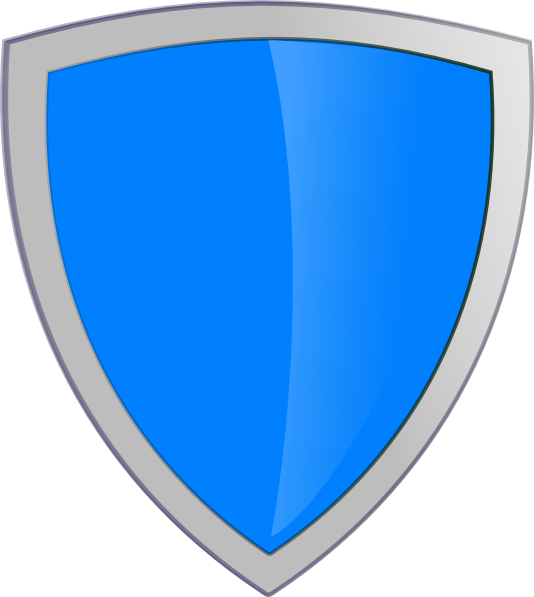 blue security shield clip art at clker com vector clip art online rh clker com clip art shield shapes clip art shield and sword