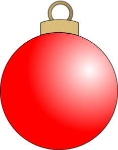Ball Ornament Clip Art