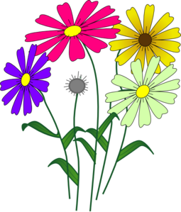 flowers clip art at clker com vector clip art online royalty free rh clker com clip art of flowers to print clip art of flowers free