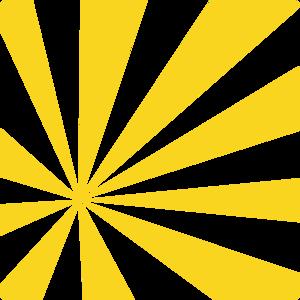 Yellow Sun Rays Clip Art at Clker.com - vector clip art online ...