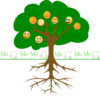 Smileytree2 Clip Art