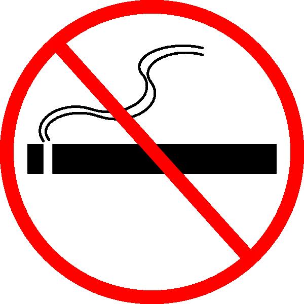 free clipart no smoking symbol - photo #36