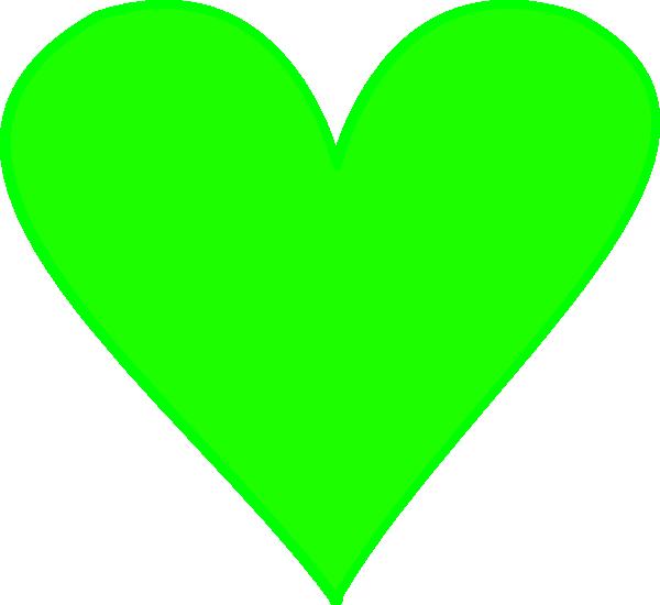 Green Heart Clip Art at Clker.com - vector clip art online, royalty ...