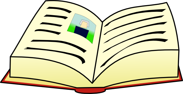 clipart for books-#12