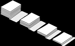 Piles Of Paper Clip Art at Clker.com - vector clip art ...