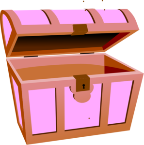 Treasure Hunt Box Clip Art