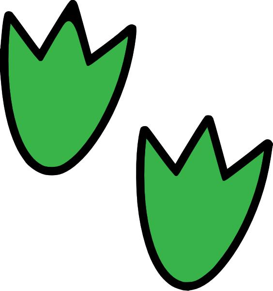 Dinosaur Footprints C Clip Art at Clker.com - vector clip ...