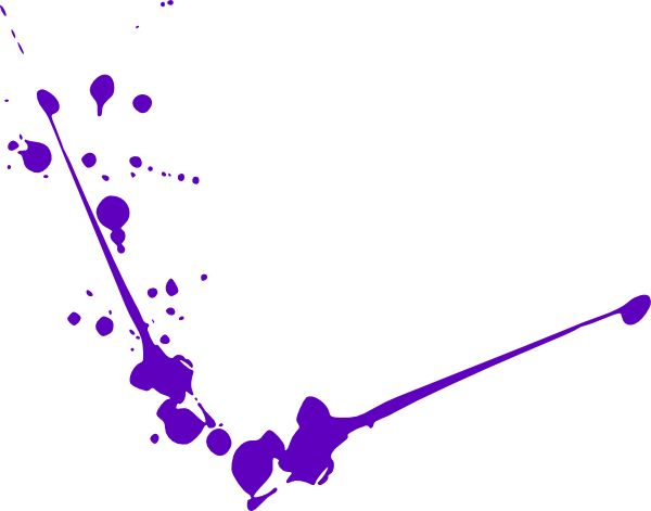 purple spatter clip art at clkercom vector clip art