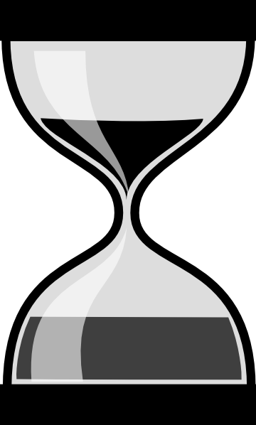 Timer Black And White Clip Art at Clker.com - vector clip art online ...