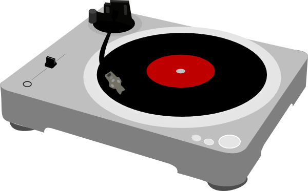 turntable clip art at clker com vector clip art online royalty rh clker com DJ Clip Art DJ Turntables Graffiti Art