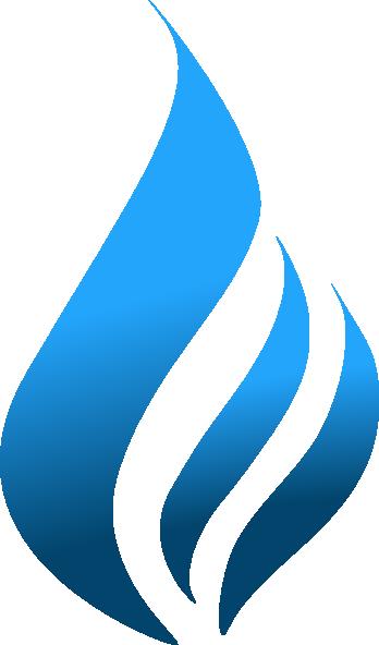 Blue Flame (tighter) Clip Art at Clker.com - vector clip ... | 348 x 592 png 29kB