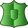 Green Shield Clip Art