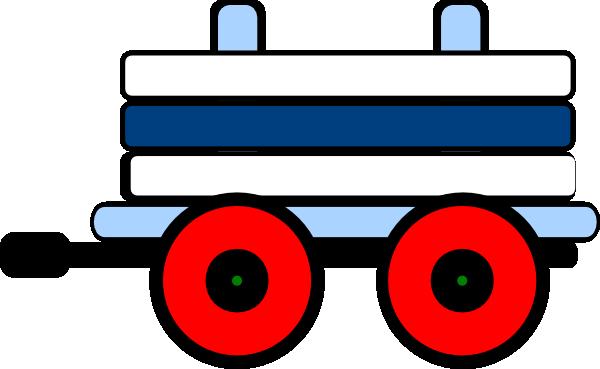 Toot Toot Train Carriage Clip Art At Clker Com Vector
