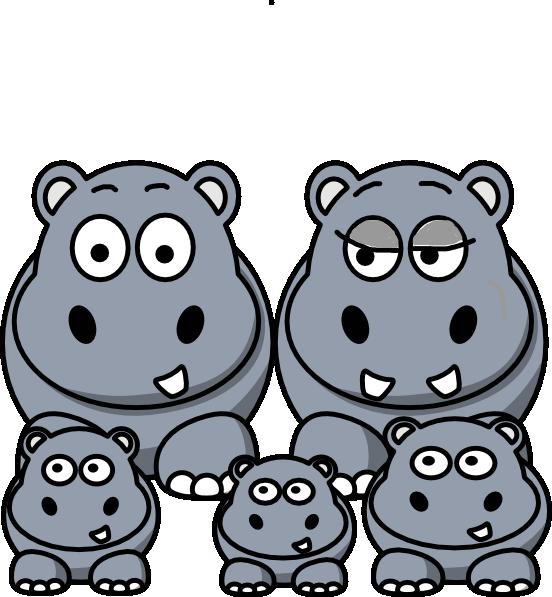free clip art hippo cartoon - photo #37