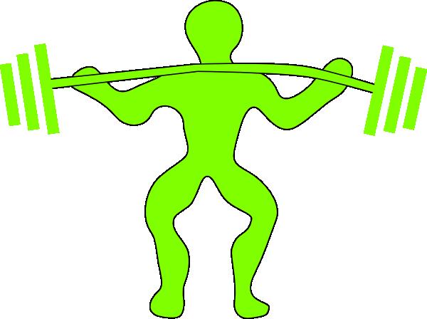 weightlifting clip art at clker com vector clip art online rh clker com olympic weightlifting clipart weightlifter clipart pictures