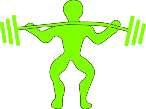 Weightlifting Clip Art