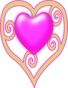 Princess Crown Heart Clip Art