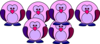 M-l Purple Penguin Clip Art
