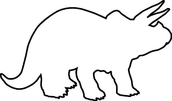 Triceratops Clip Art at Clker.com - vector clip art online, royalty ...