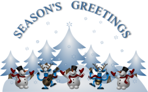 Seasons Greetings Clip Art