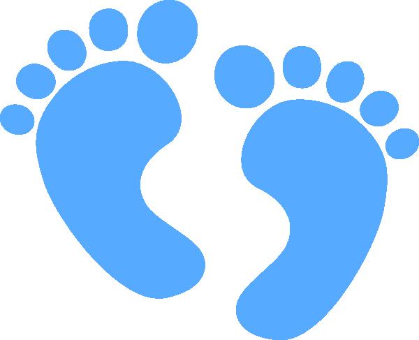baby feet blue clip art at clker com vector clip art online rh clker com baby feet clipart png baby feet clip art transparent background