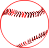 Red Baseball Clip Art