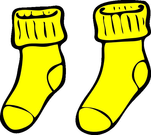 Yellow Socks Clip Art at Clker.com - vector clip art online, royalty ...
