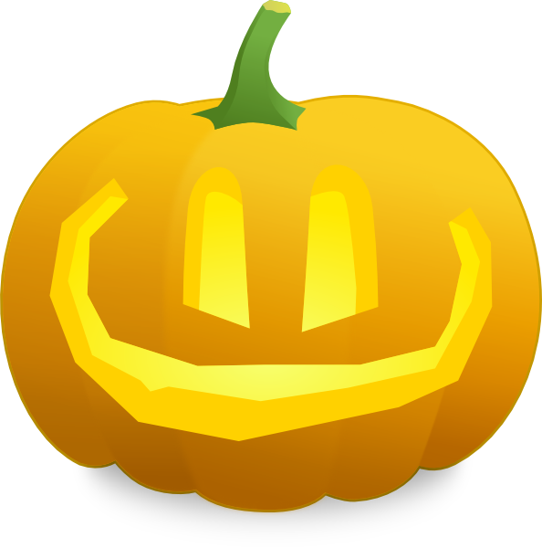 Happy Jack O' Lantern Clip Art at Clker.com - vector clip ...