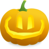 Happy Jack O' Lantern Clip Art