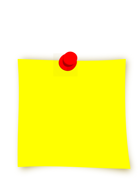 New Yellow Sticky Clip Art at Clker.com - vector clip art ...