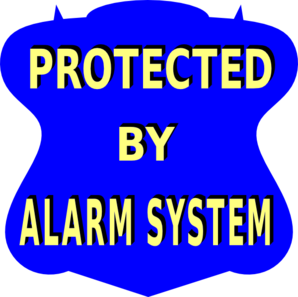 Alarm Sign Clip Art