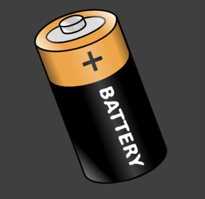 Battery 9 Clip Art